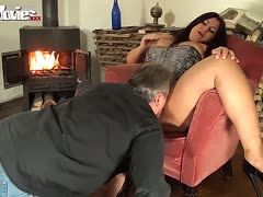 Oral sex with strict woman