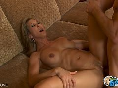 Jordan Ash satisfies Brandi Love in a dirty way