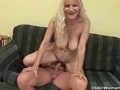 Mature babes have sex with young cocks