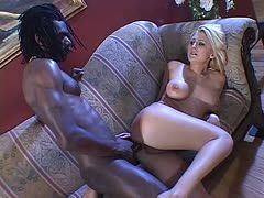 Interracialfick mit John E Depth und Staci Thorn