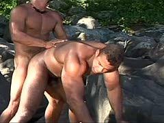 Doppelby-Schwulenpornos
